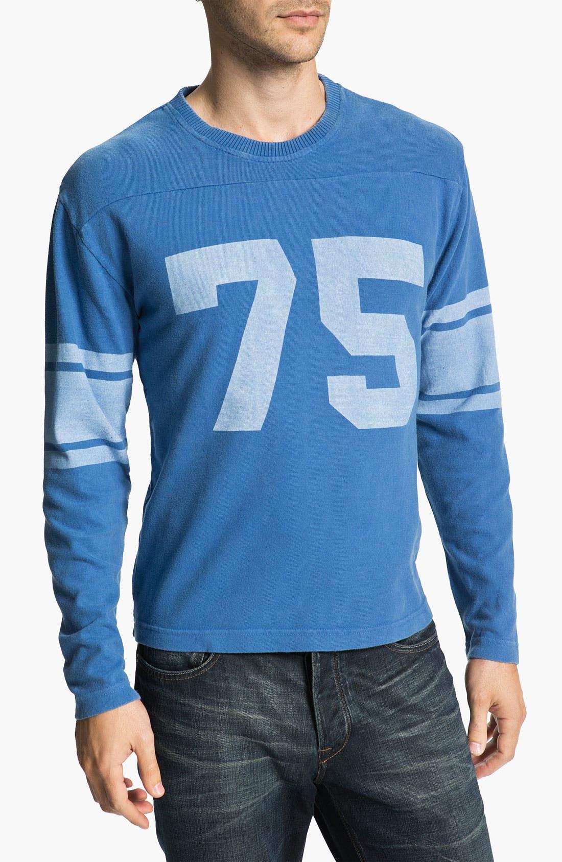 Main Image - Red Jacket 'Deacon Jones - Bulldog' Long Sleeve T-Shirt