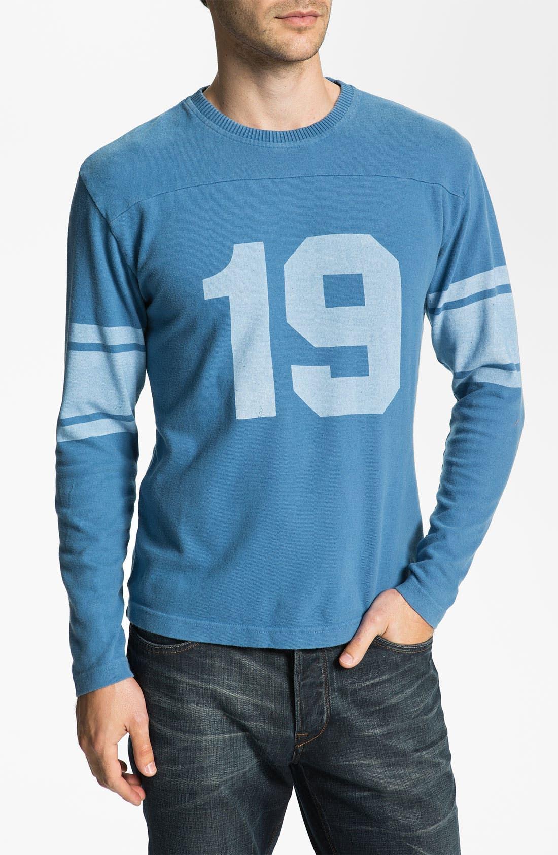 Alternate Image 1 Selected - Red Jacket 'Johnny Unitas - Bulldog' Long Sleeve T-Shirt