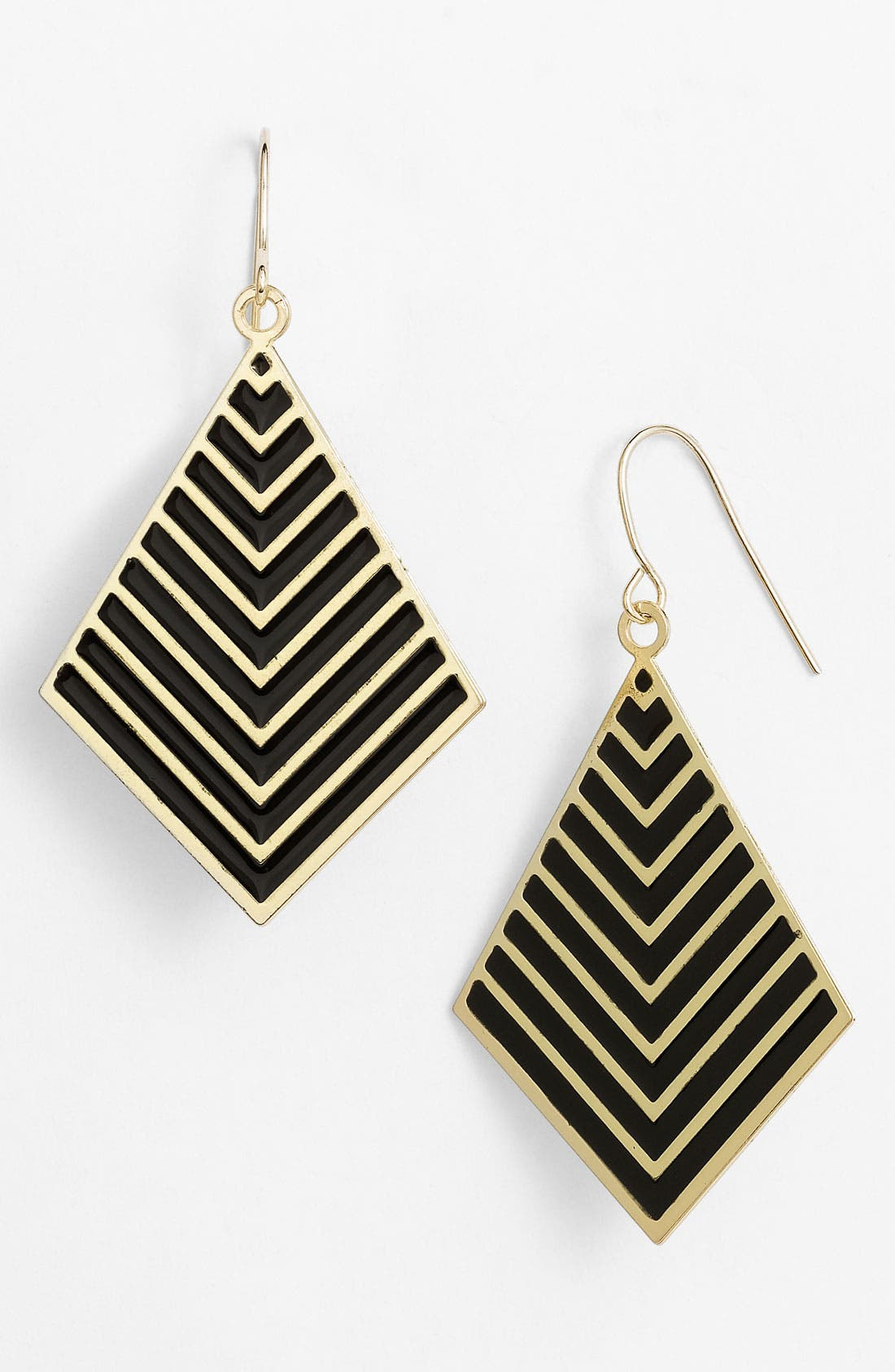 Alternate Image 1 Selected - Stephan & Co. Chevron Earrings