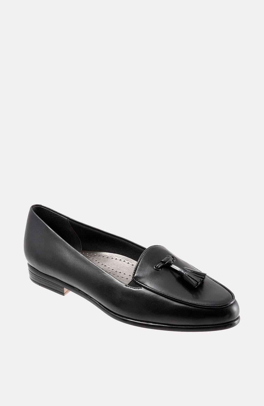 'Leana' Flat,                         Main,                         color, Black/ Black