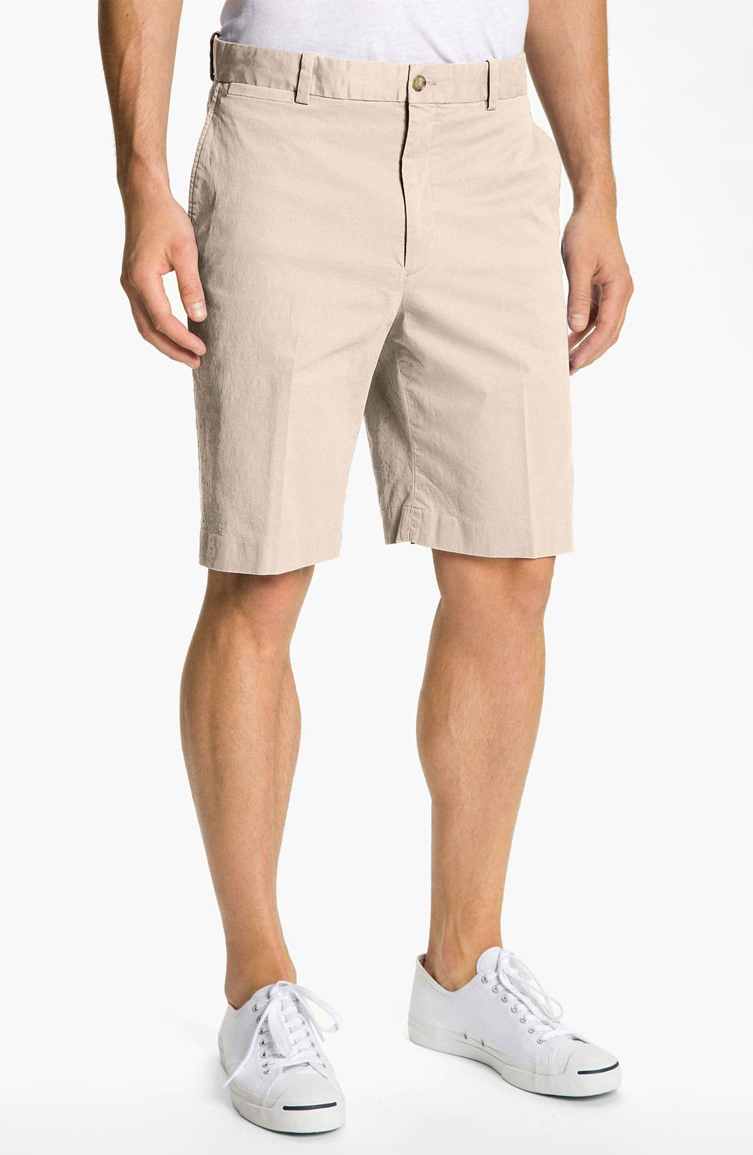 Main Image - Bobby Jones Flat Front Golf Shorts