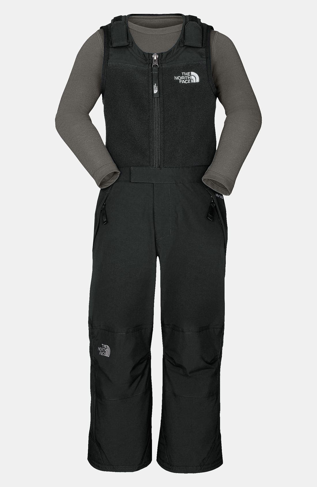 Alternate Image 1 Selected - The North Face 'Snowdrift' Insulated Bib (Toddler)