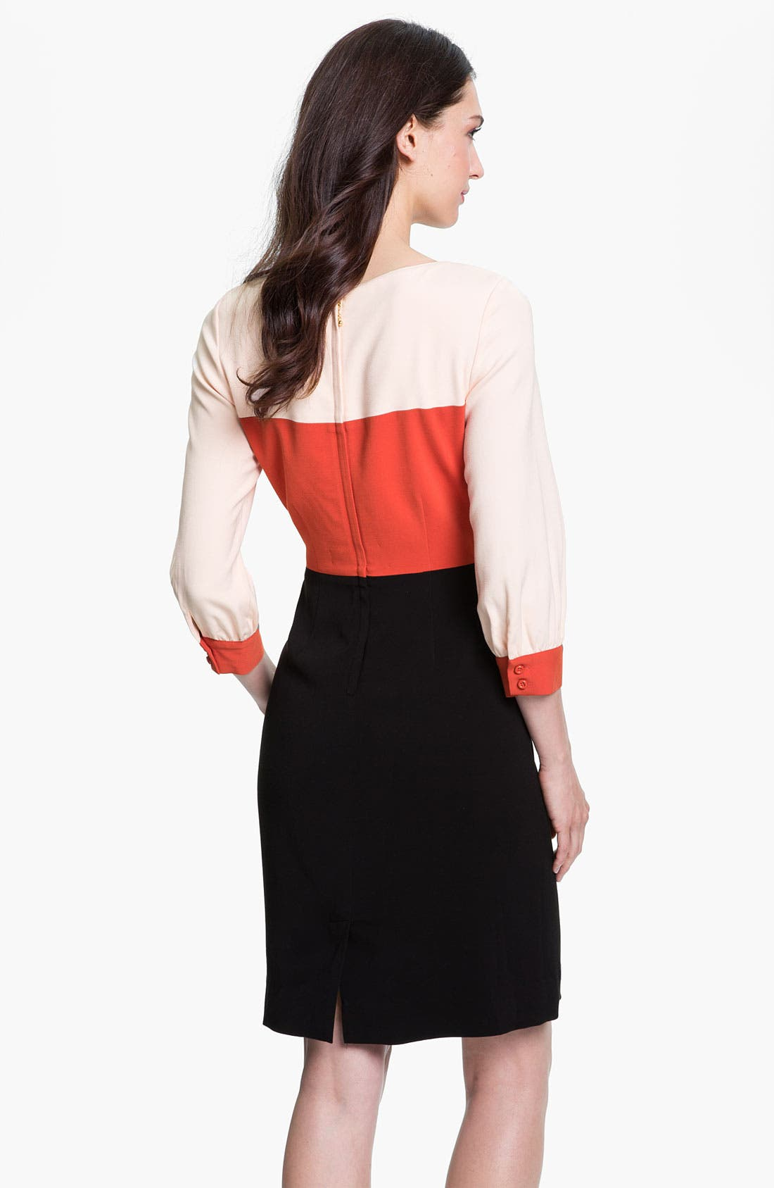 Alternate Image 2  - kate spade new york 'parker' colorblock sheath dress