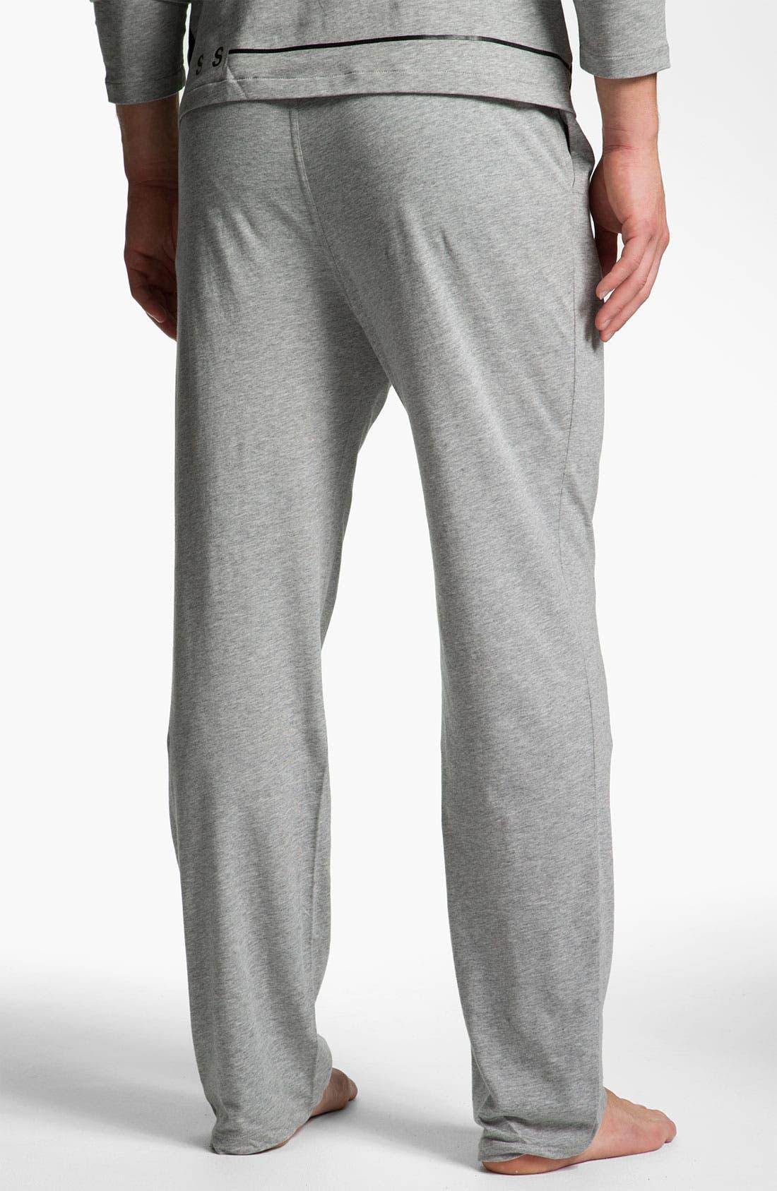 Alternate Image 2  - BOSS Black Pajama Set (Online Exclusive)