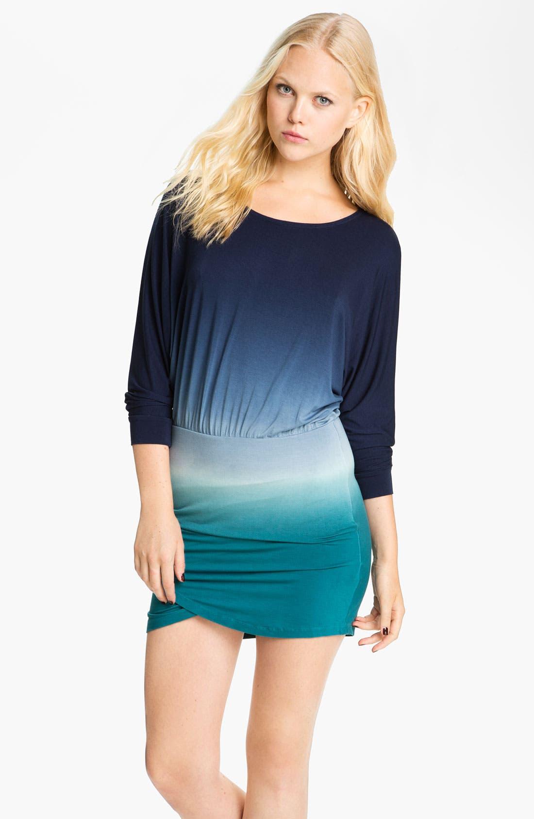 Main Image - Young, Fabulous & Broke 'Heidi' Tie Dye Dolman Dress