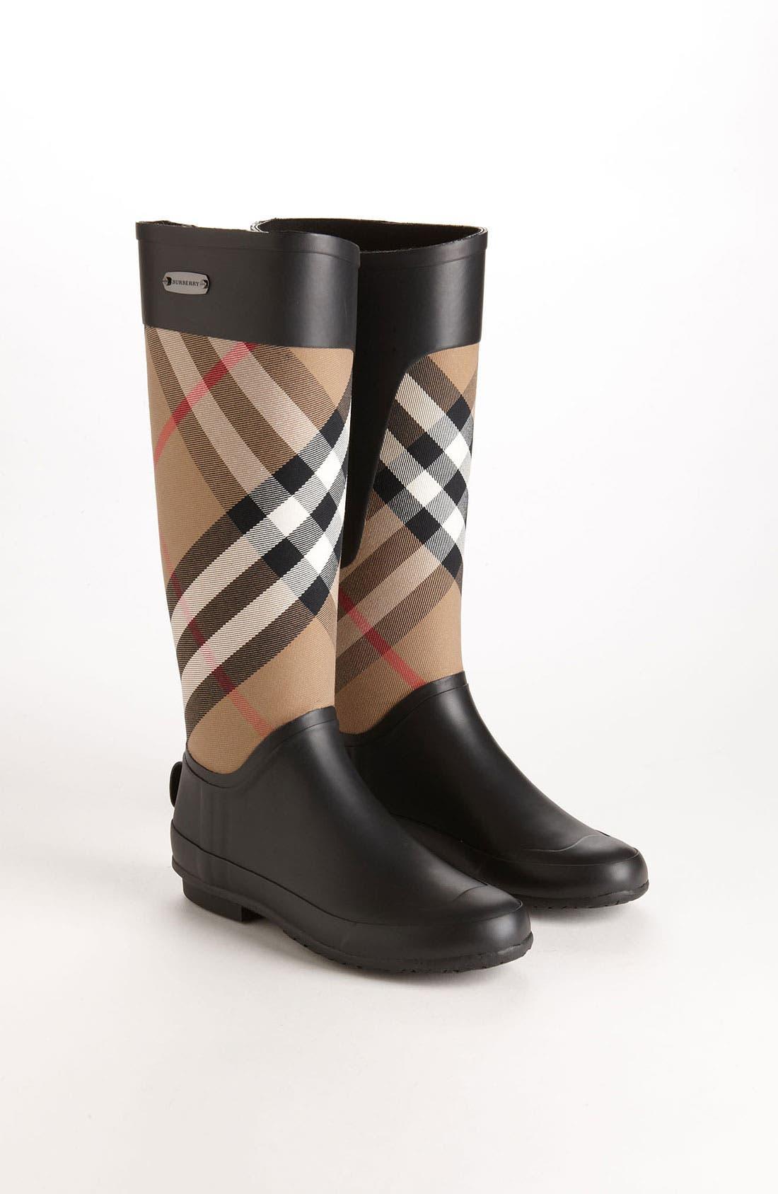 Alternate Image 4  - Burberry Clemence Rain Boot (Women)