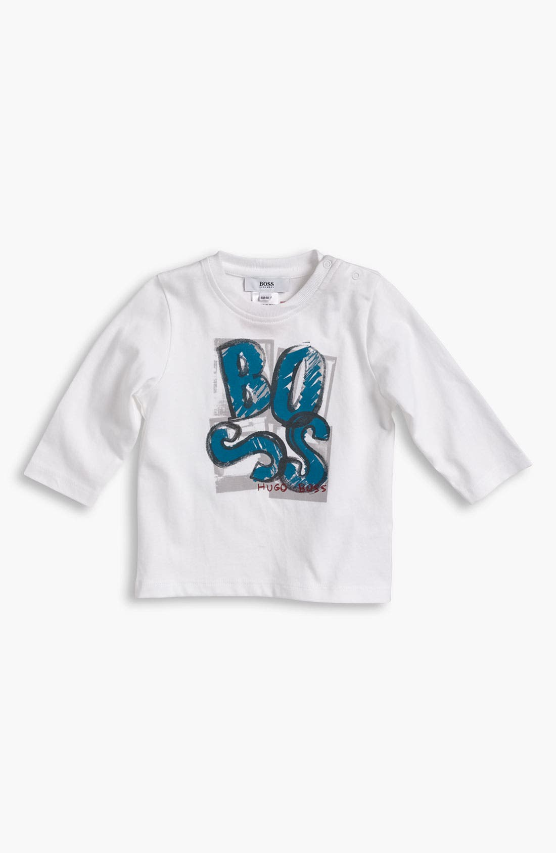 Alternate Image 1 Selected - BOSS Kidswear Long Sleeve T-Shirt (Toddler)