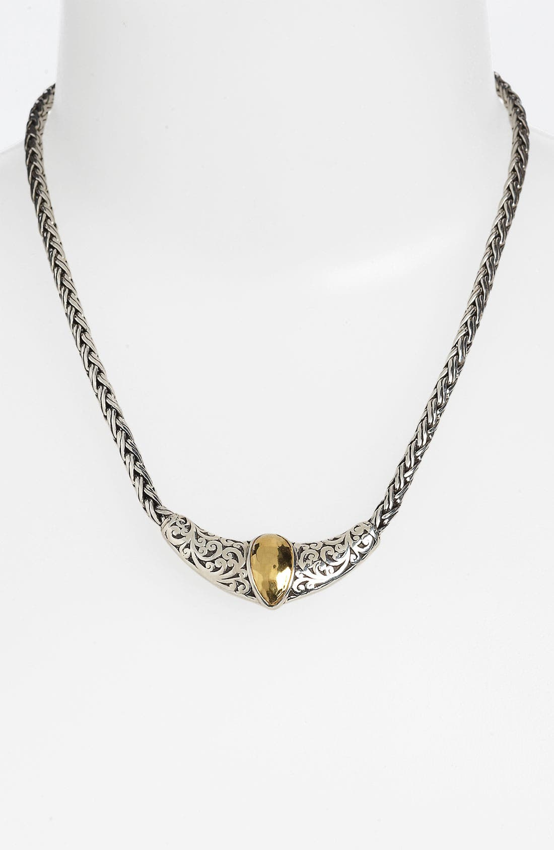 Main Image - Lois Hill 'Marquise' Woven Chain Necklace