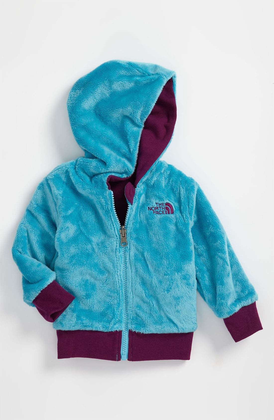 Alternate Image 2  - The North Face 'Elloise' Reversible Hoodie (Infant)