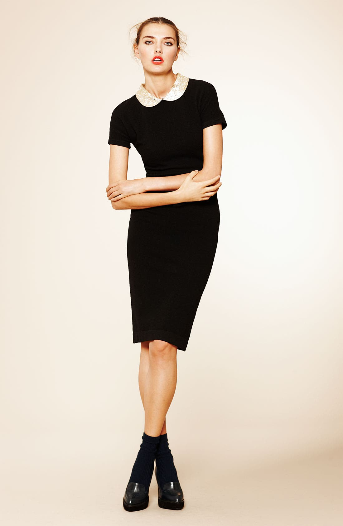 Alternate Image 4  - MARC BY MARC JACOBS 'Mika' Embellished Collar Dress