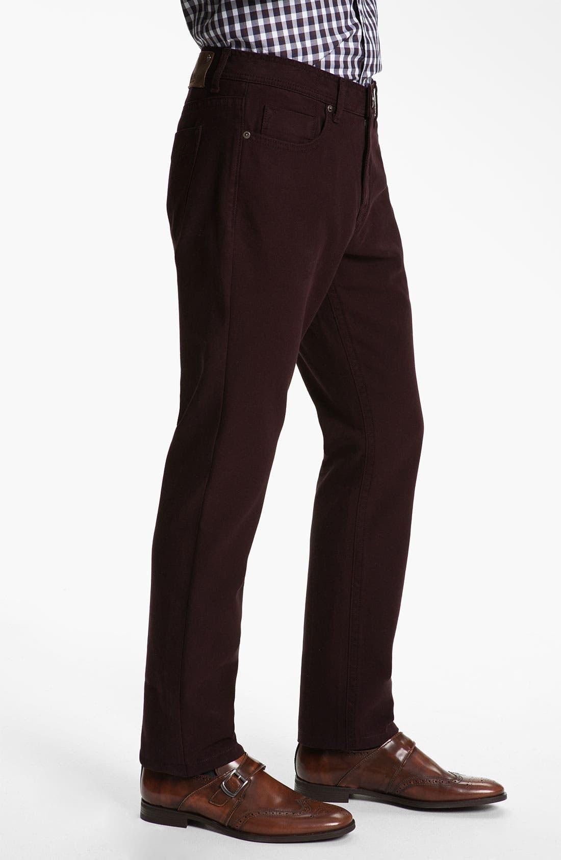 Alternate Image 3  - DL1961 'Vince' Straight Leg Jeans (Redwood) (Online Only)