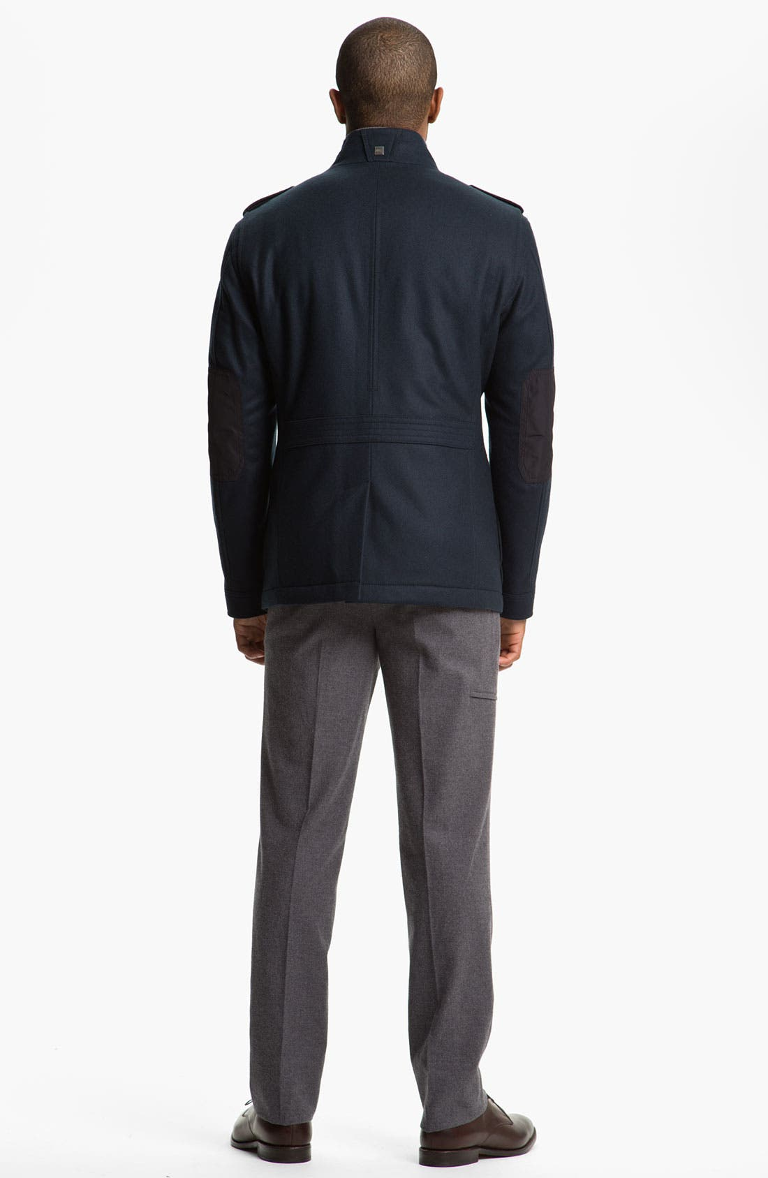 Alternate Image 5  - BOSS Black 'Ciffom' Wool Jacket