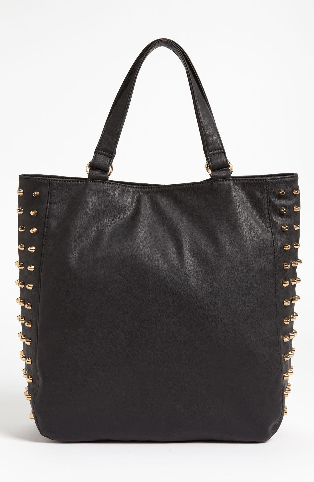 Alternate Image 1 Selected - Cesca Studded Faux Leather Tote