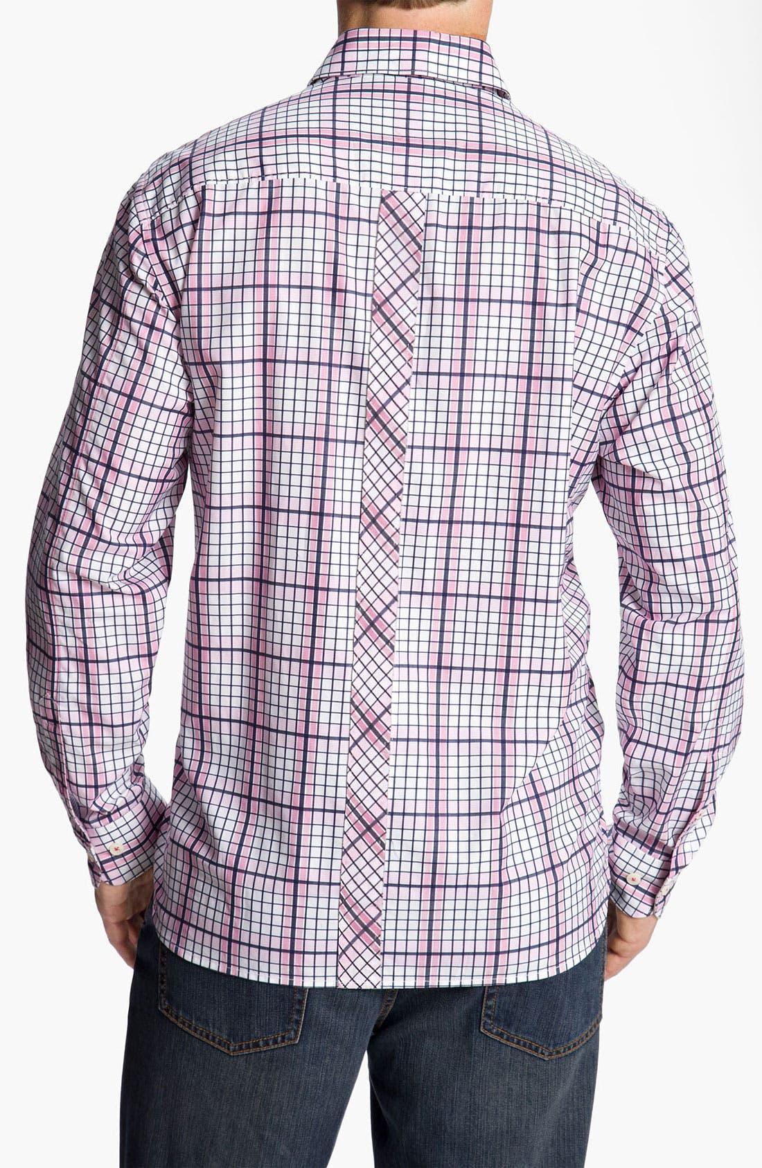 Alternate Image 2  - Tommy Bahama 'Terrace Check' Sport Shirt