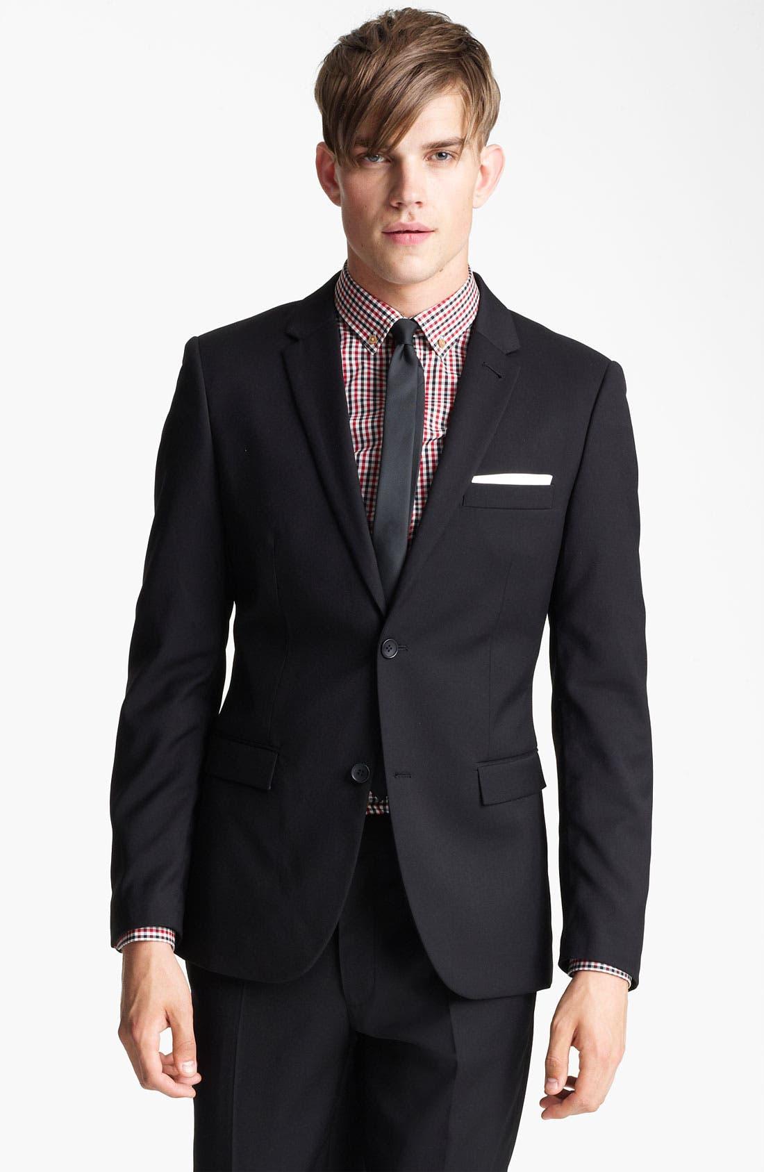 Main Image - Topman Skinny Fit Blazer