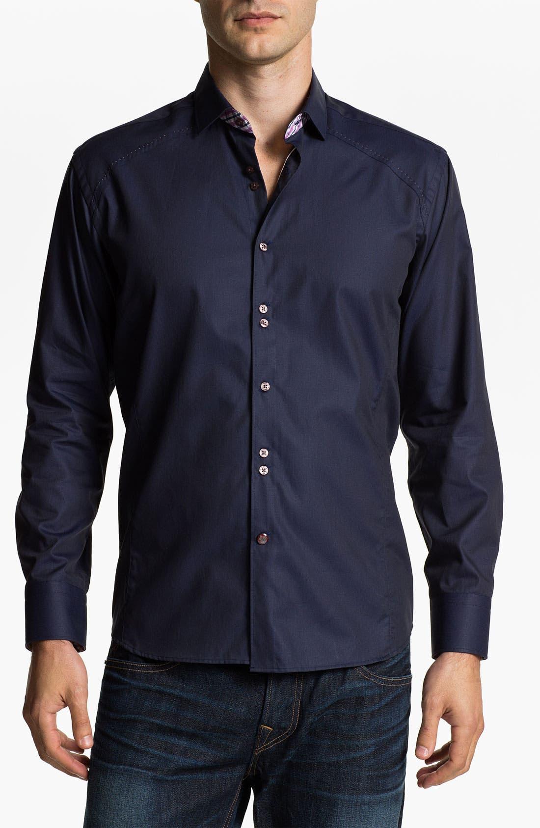 Alternate Image 1 Selected - Stone Rose Woven Shirt