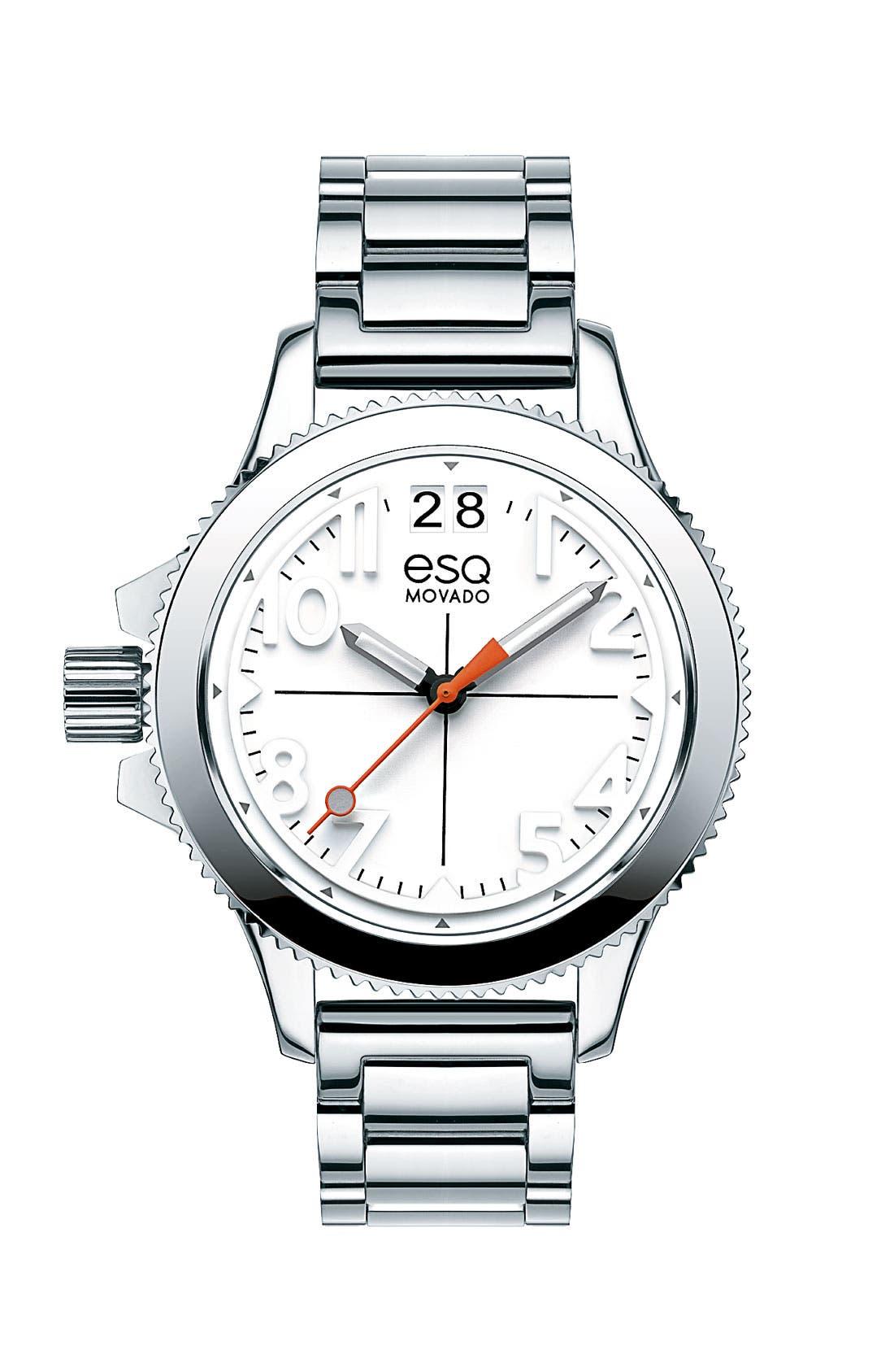 Alternate Image 1 Selected - ESQ Movado 'Fusion' Bracelet Watch, 36mm