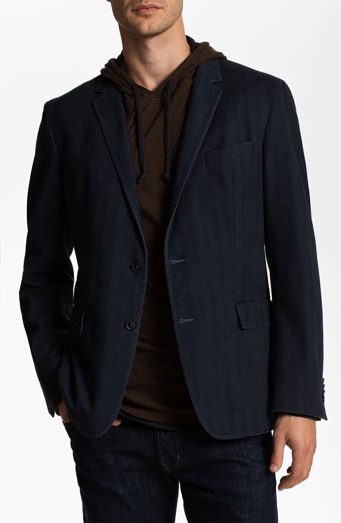 Alternate Image 1 Selected - BOSS Black 'Miles' Trim Fit Blazer