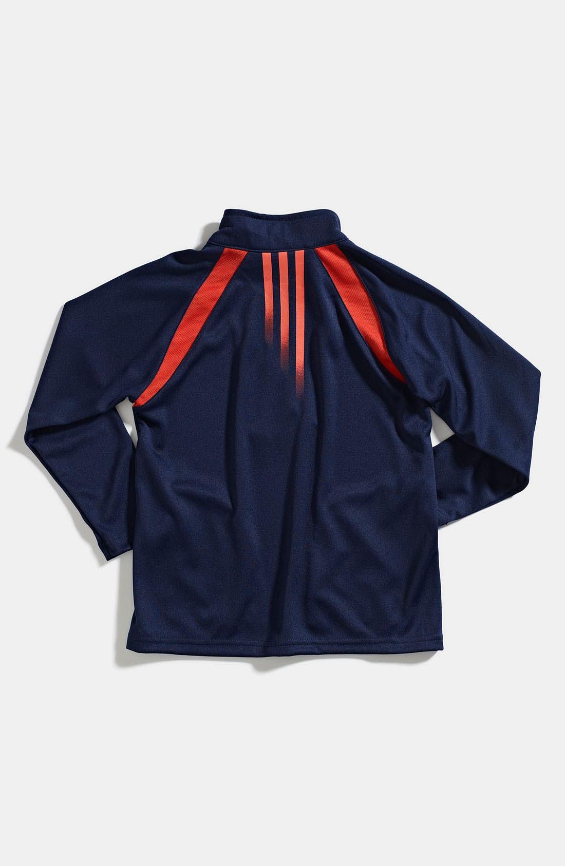 Alternate Image 2  - adidas Tech Jacket (Little Boys)