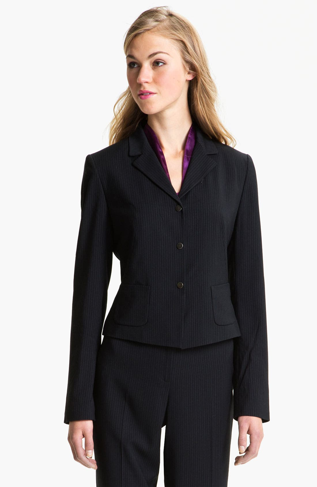 Alternate Image 1 Selected - T Tahari 'Roxy' Jacket (Petite)