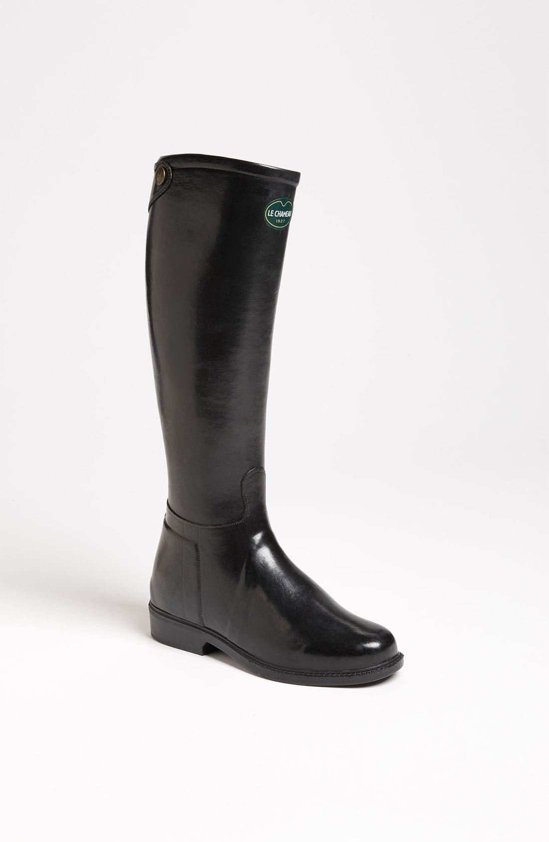 Alternate Image 1 Selected - Le Chameau 'Cavaliere' Rain Boot (Women)