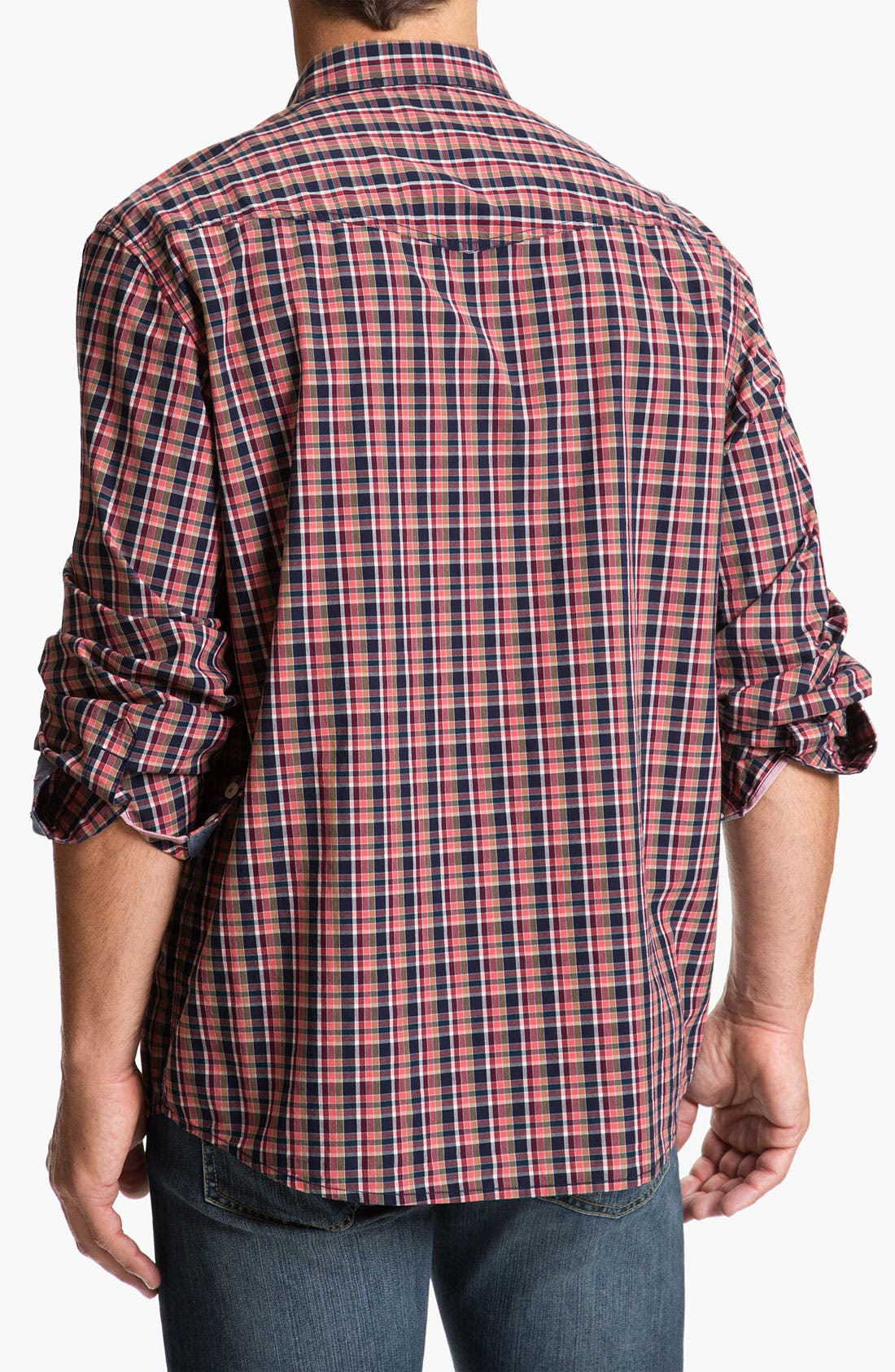 Alternate Image 2  - Tommy Bahama Denim 'Bao Down Plaid' Sport Shirt
