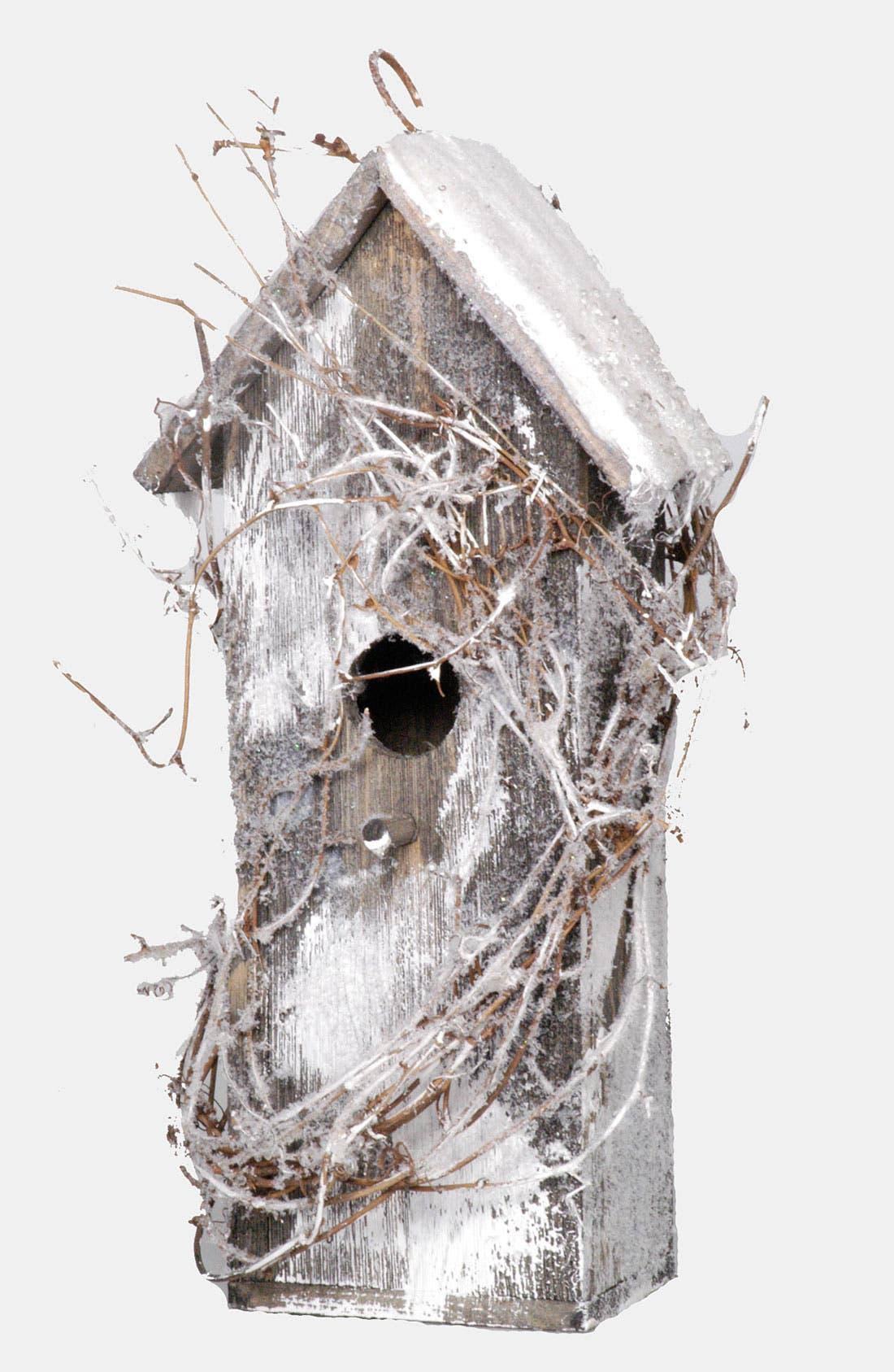 Alternate Image 1 Selected - Fantastic Craft 'Snow Birdhouse - Medium' Decoration