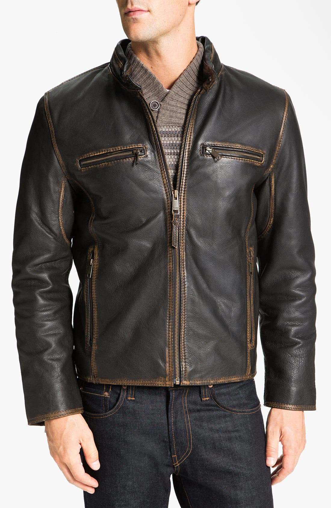 Main Image - Marc New York by Andrew Marc 'Cuervo' Leather Jacket