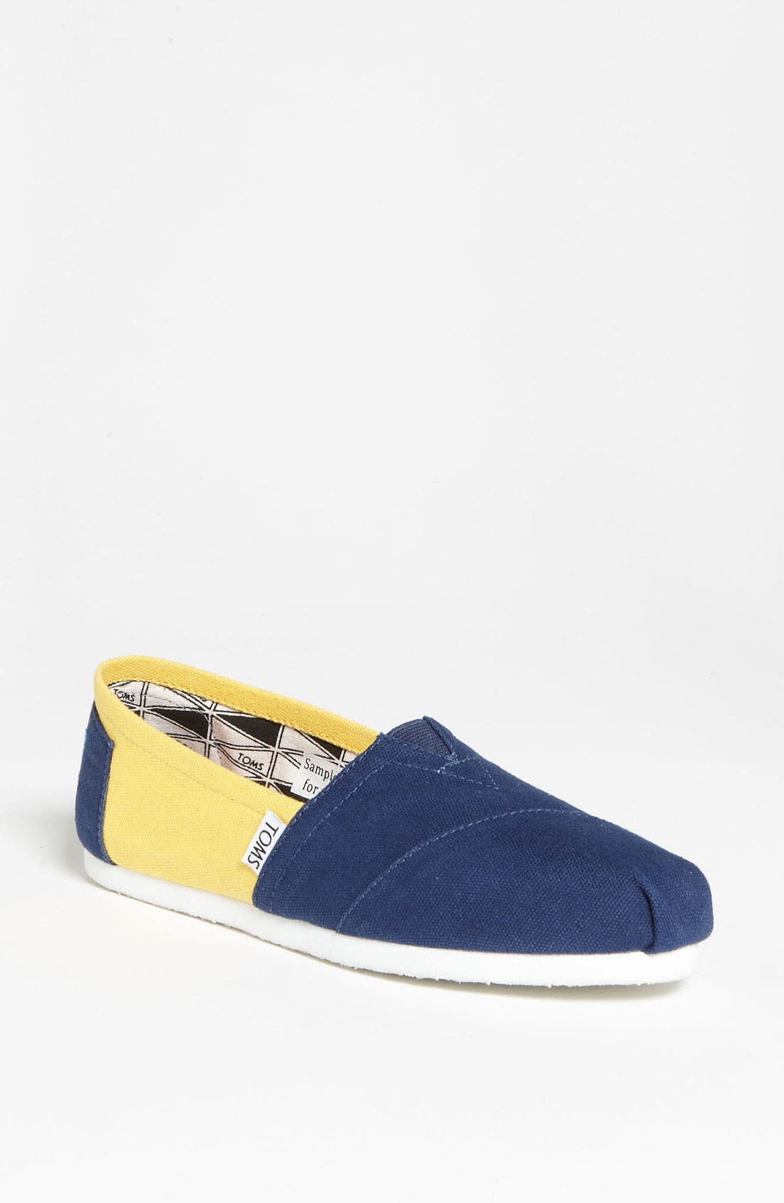 Alternate Image 1 Selected - TOMS 'Campus Classics - University of Michigan' Slip-On (Women)