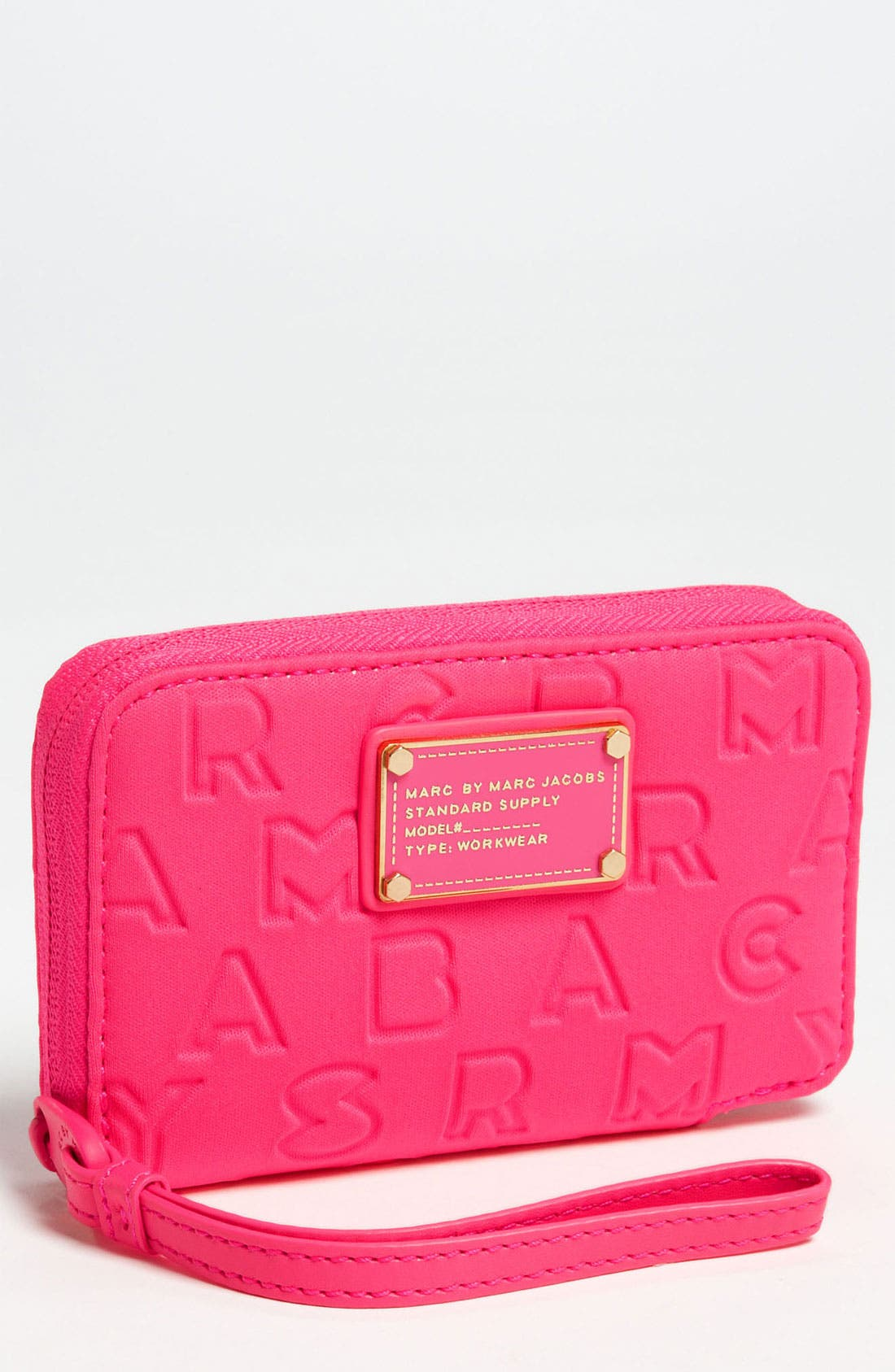 Alternate Image 1 Selected - MARC BY MARC JACOBS 'Dreamy Logo - Wingman' Phone Wallet