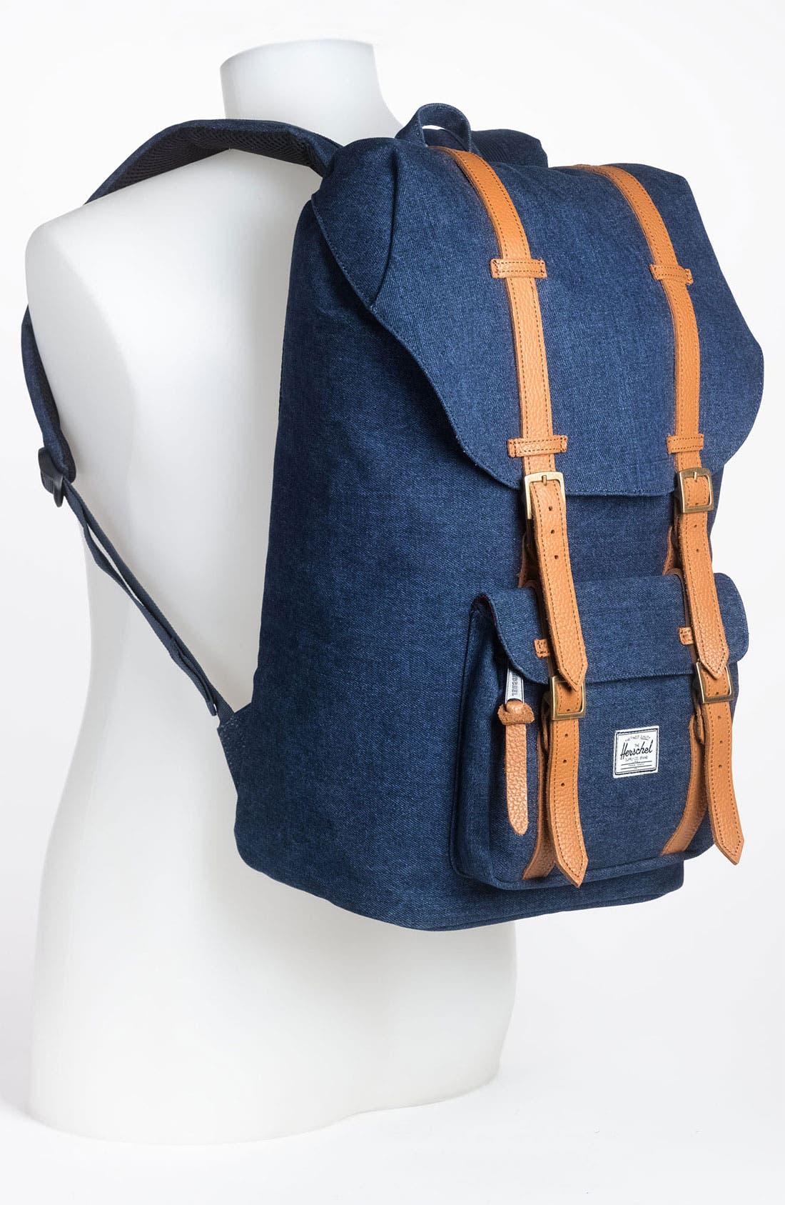 Alternate Image 4  - Herschel Supply Co. 'Little America - Denim Collection' Backpack