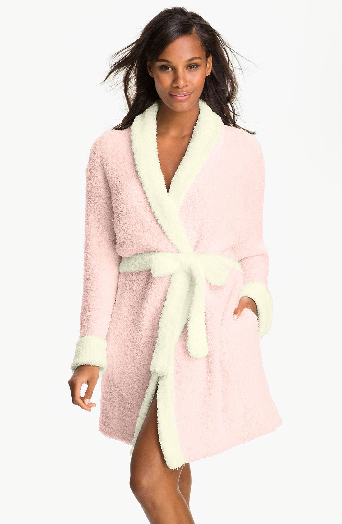 Main Image - Barefoot Dreams® CozyChic® Two Tone Robe