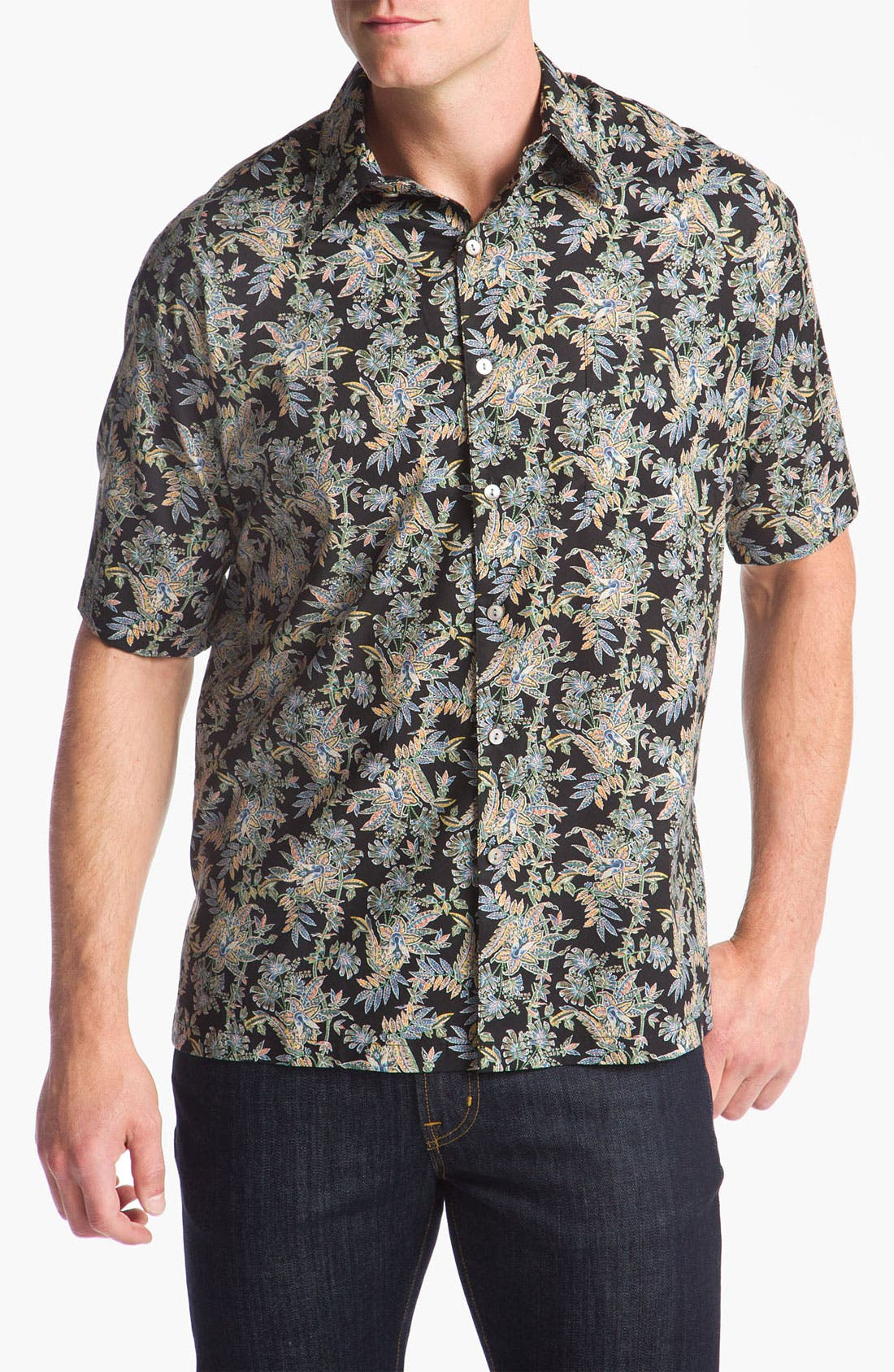 Alternate Image 1 Selected - Tori Richard 'Hothouse' Cotton Lawn Sport Shirt