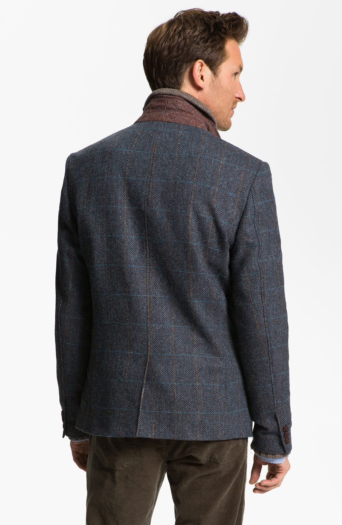 Alternate Image 2  - Ted Baker London 'Rythjak' Shetland Wool Blazer