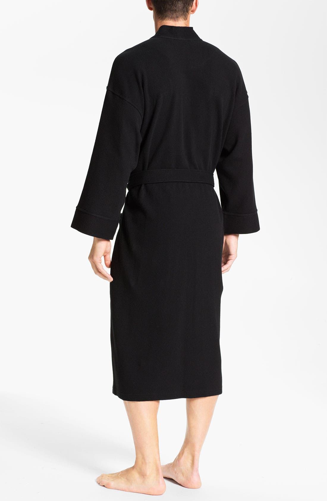 Alternate Image 2  - Nordstrom Men's Shop Thermal Robe