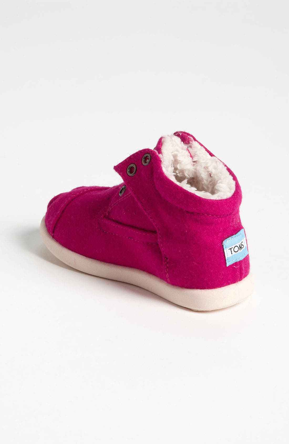 Alternate Image 2  - TOMS 'Botas - Tiny' Wool Boot (Baby, Walker, Toddler)