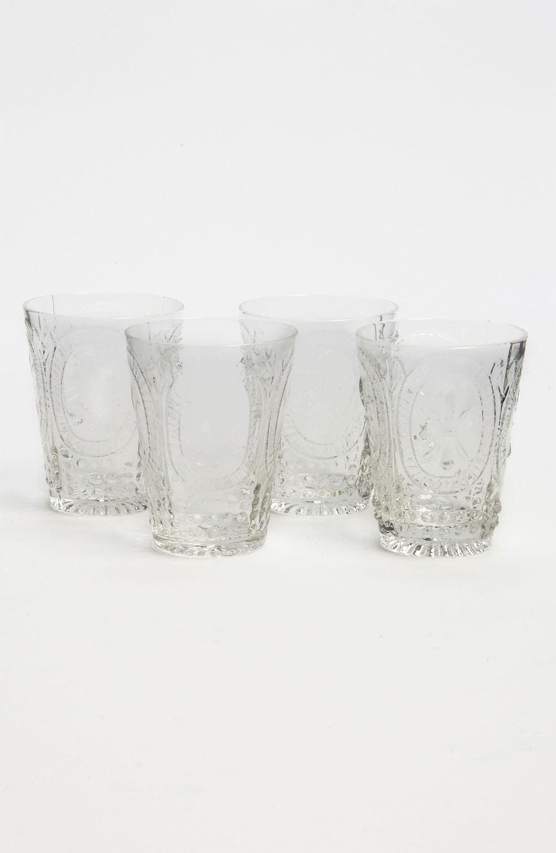 Alternate Image 1 Selected - Pressed Glass 'Lela' Cordial Glasses (Set of 4)