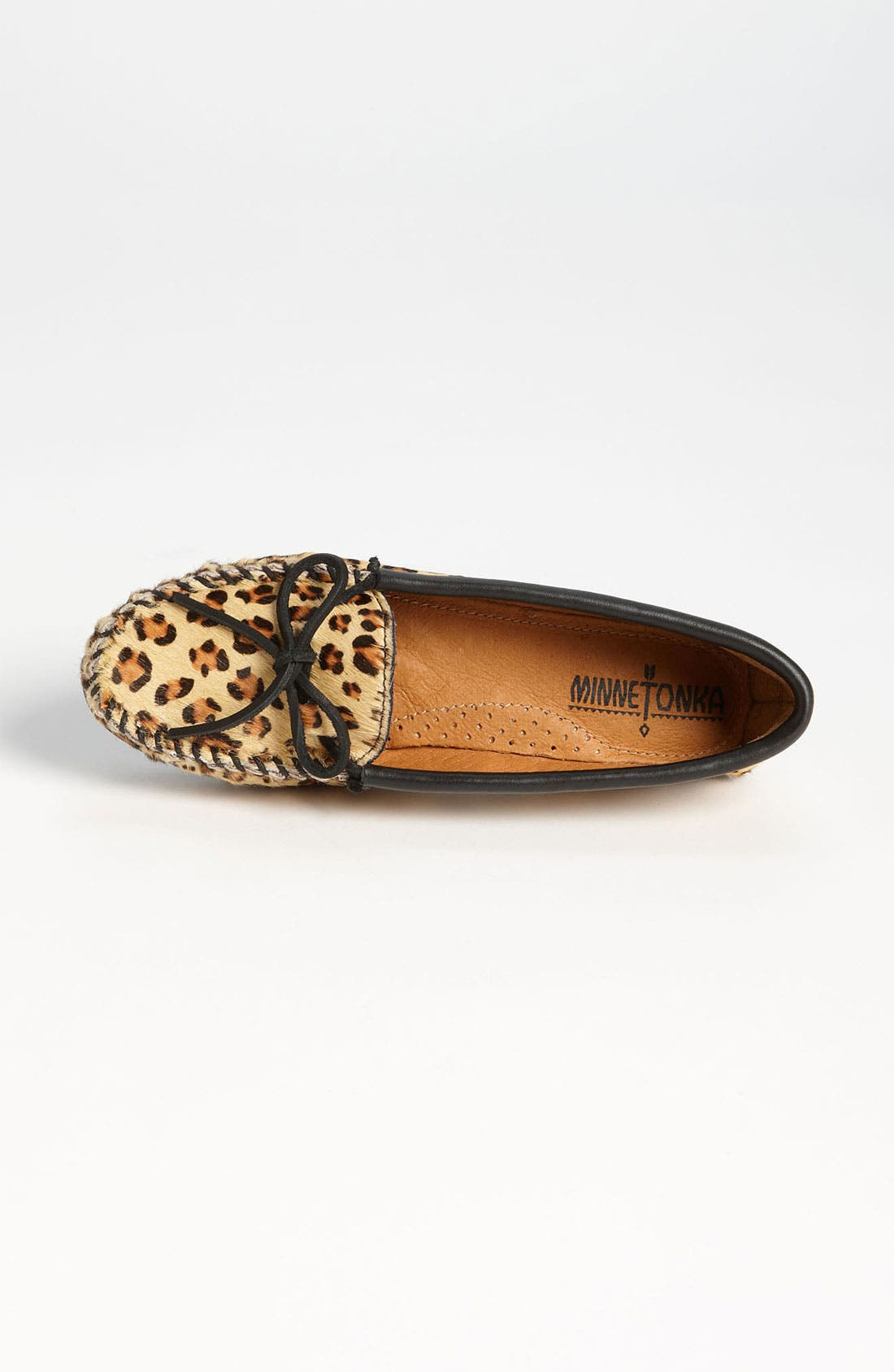 Alternate Image 3  - Minnetonka 'Full Leopard' Moccasin
