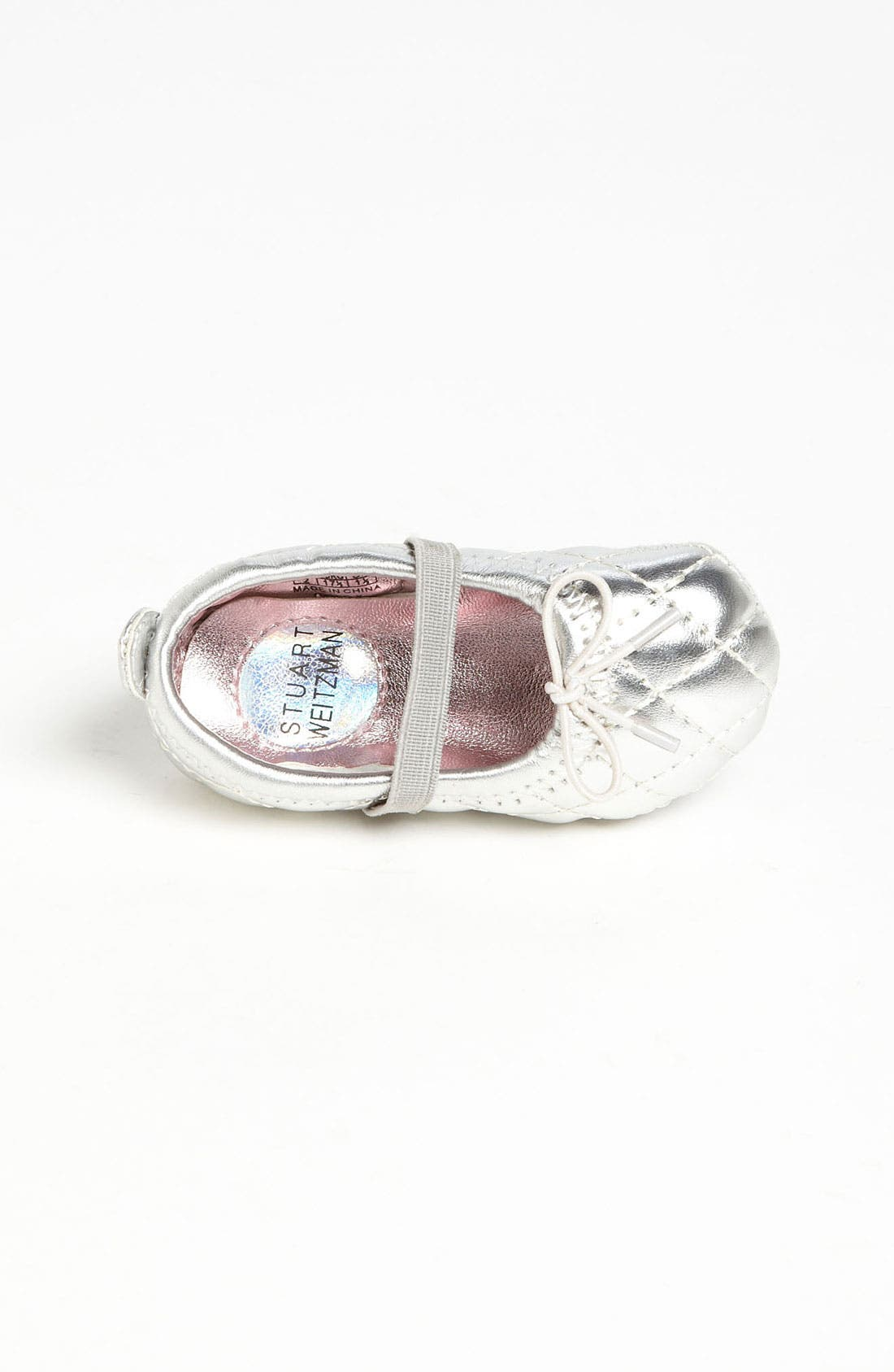 Alternate Image 3  - Stuart Weitzman 'Baby Puffy' Crib Shoe (Baby)