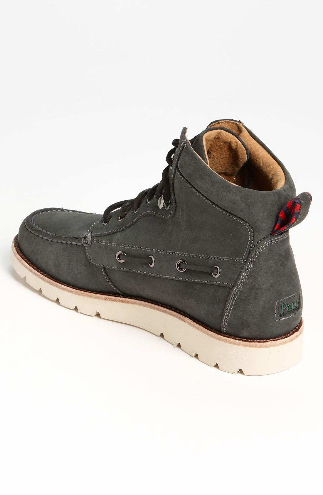 Alternate Image 2  - Polo Ralph Lauren 'Salisbury' Moc Toe Boot