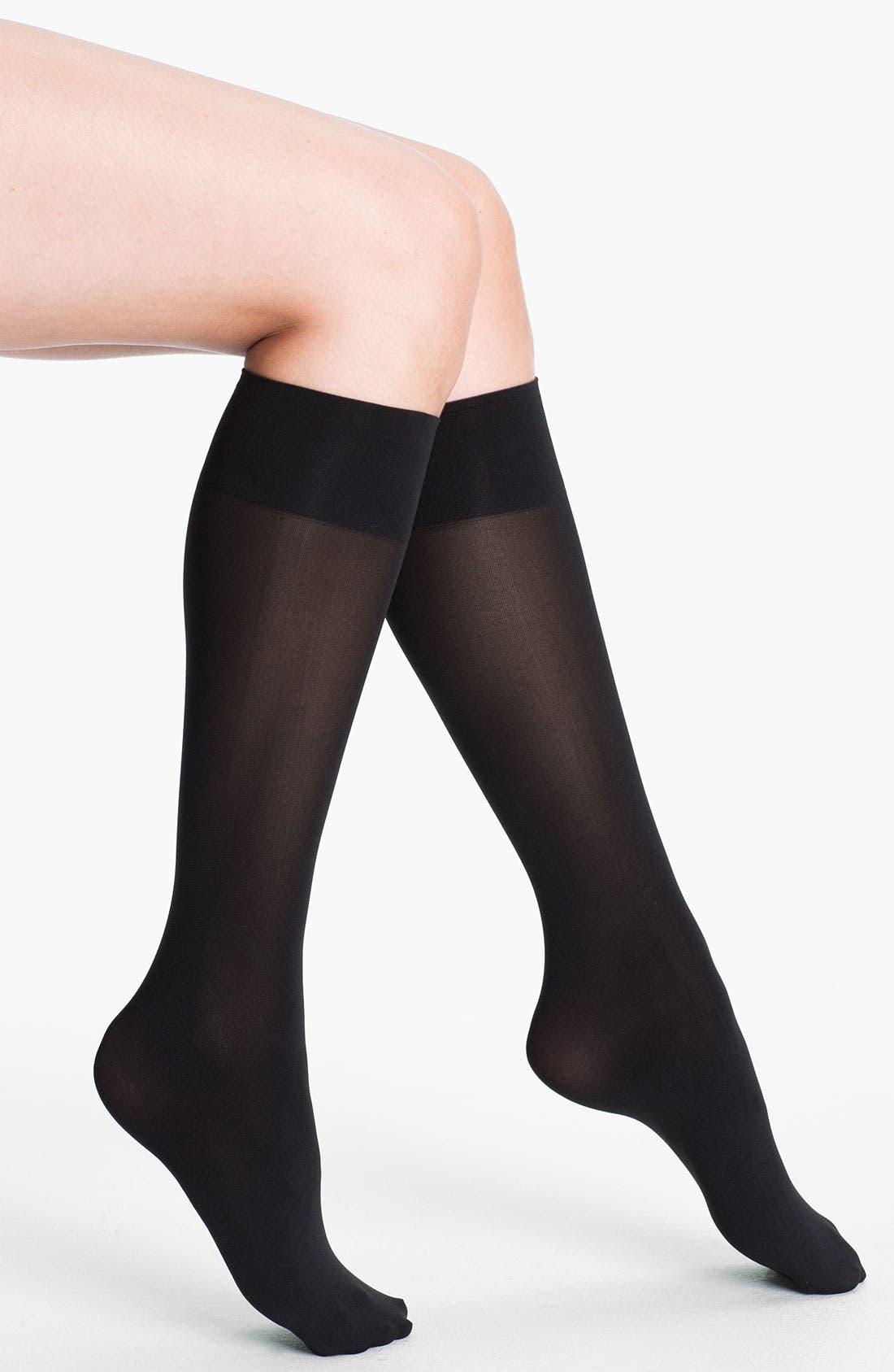 Alternate Image 1 Selected - Commando 'Ultimate' Opaque Trouser Socks