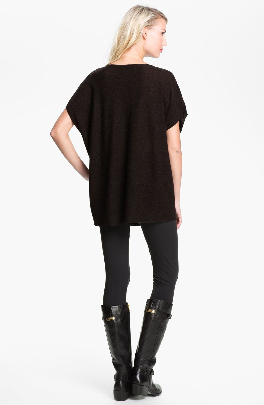 Alternate Image 4  - Eileen Fisher Jewel Neck Tunic