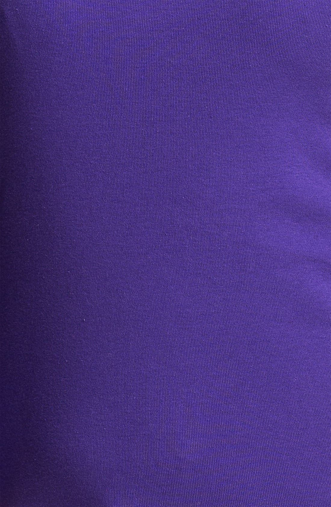 Alternate Image 3  - Caslon® Shirttail Scoop Neck Tee