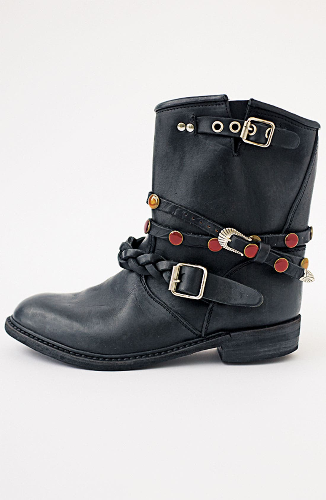 Alternate Image 5  - Golden Goose Short Biker Boot