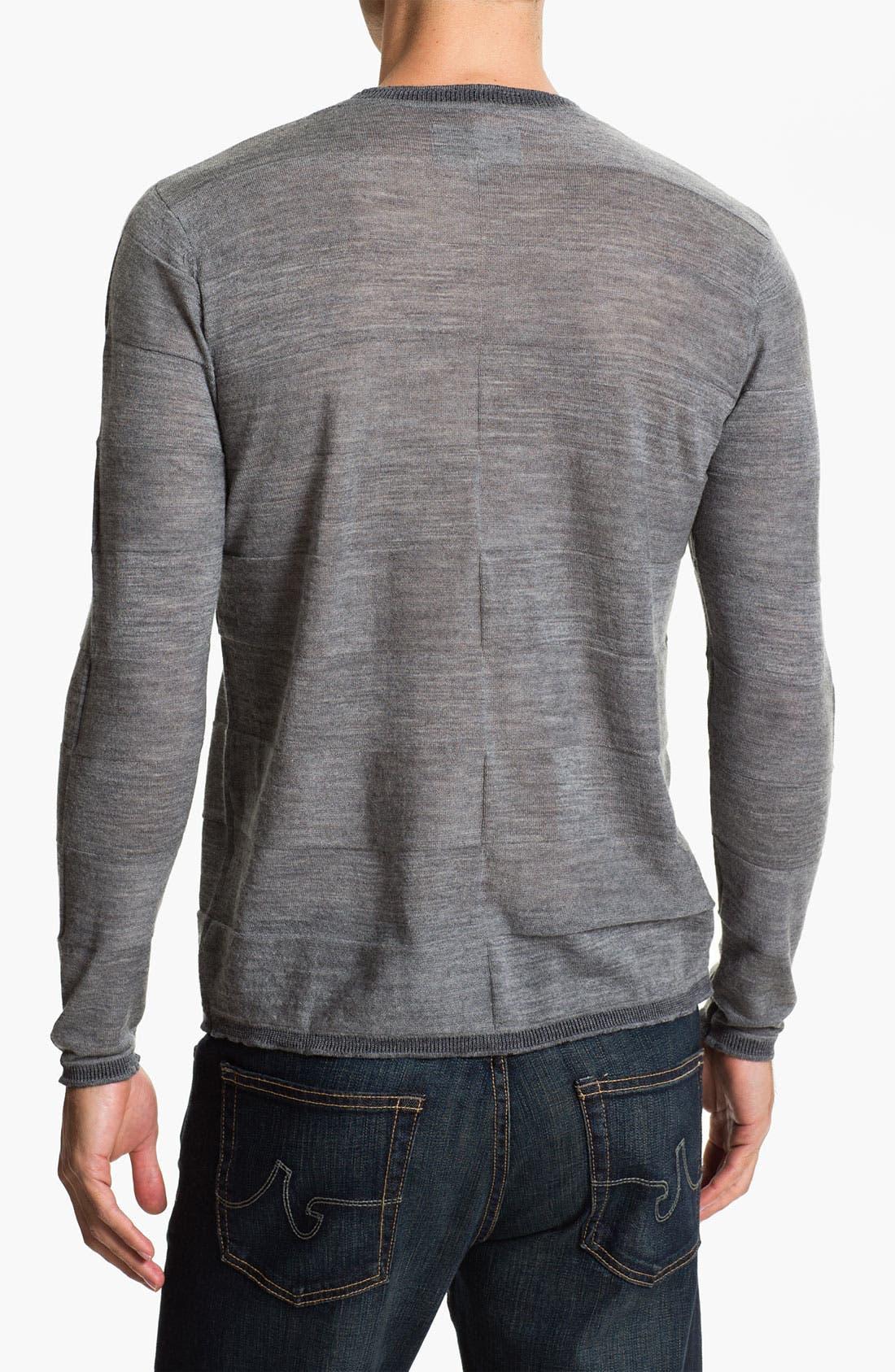 Alternate Image 2  - W.R.K 'Empire' Wool Crewneck Sweater