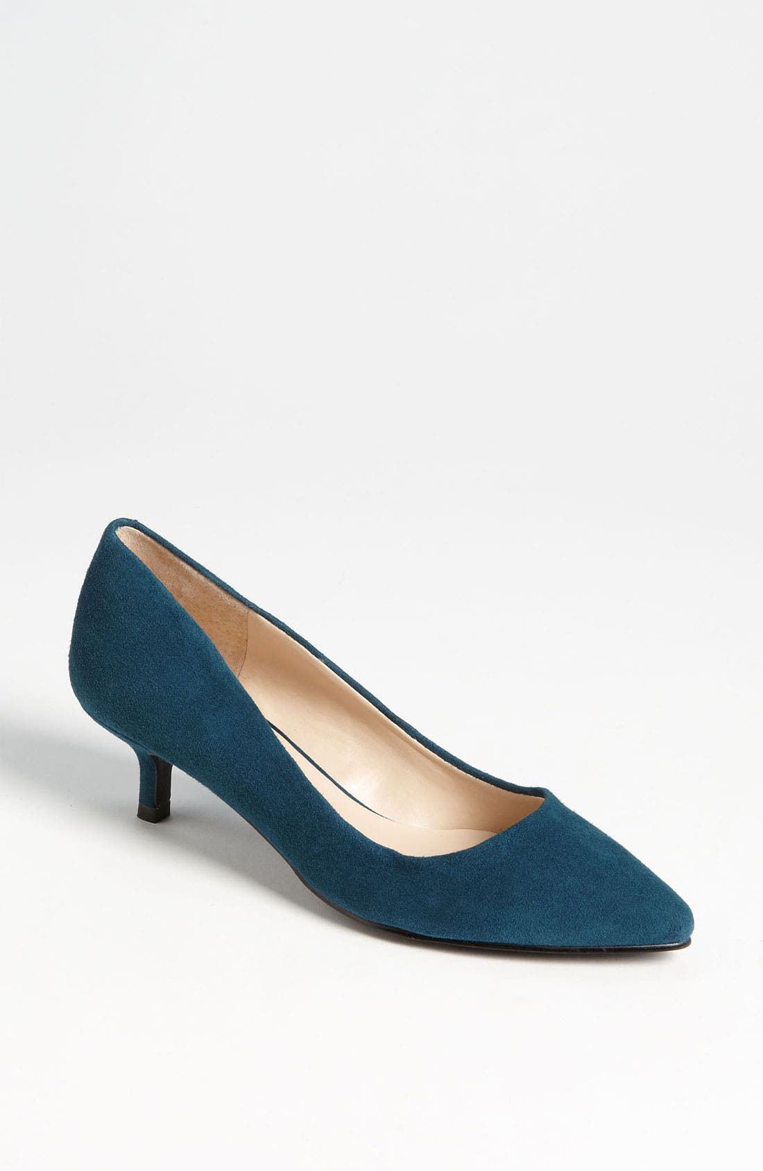Main Image - Nine West 'Runit' Kitten Heel Pump
