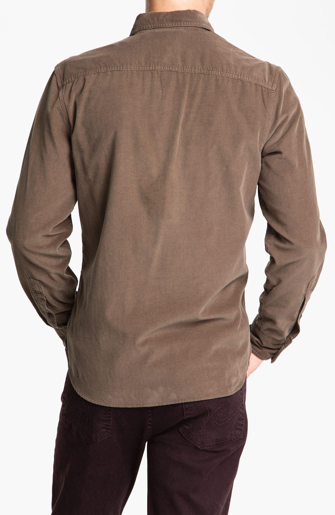 Alternate Image 2  - Wallin & Bros. Corduroy Work Shirt