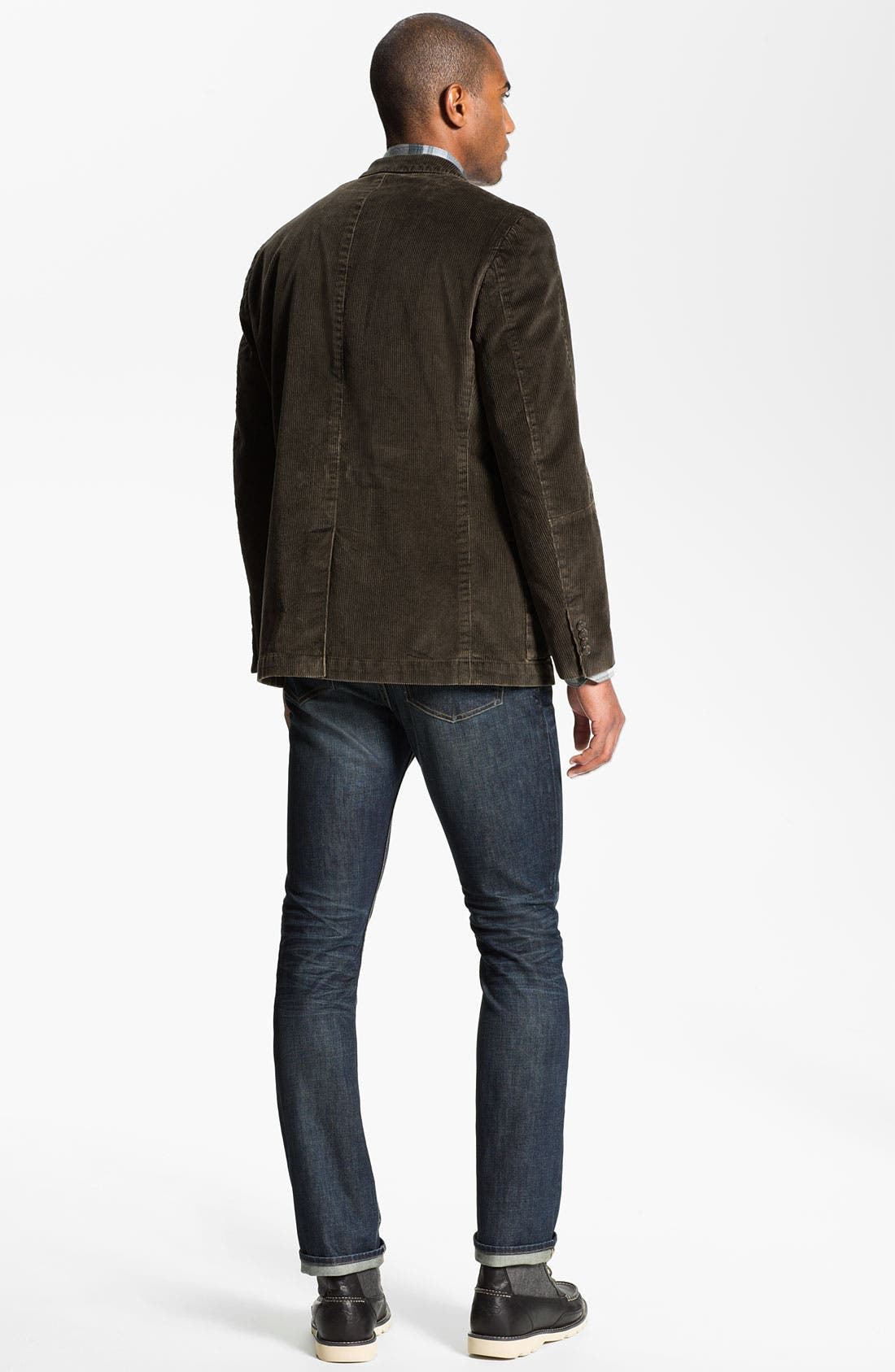 Alternate Image 5  - Nordstrom Regular Fit Cotton Flannel Shirt