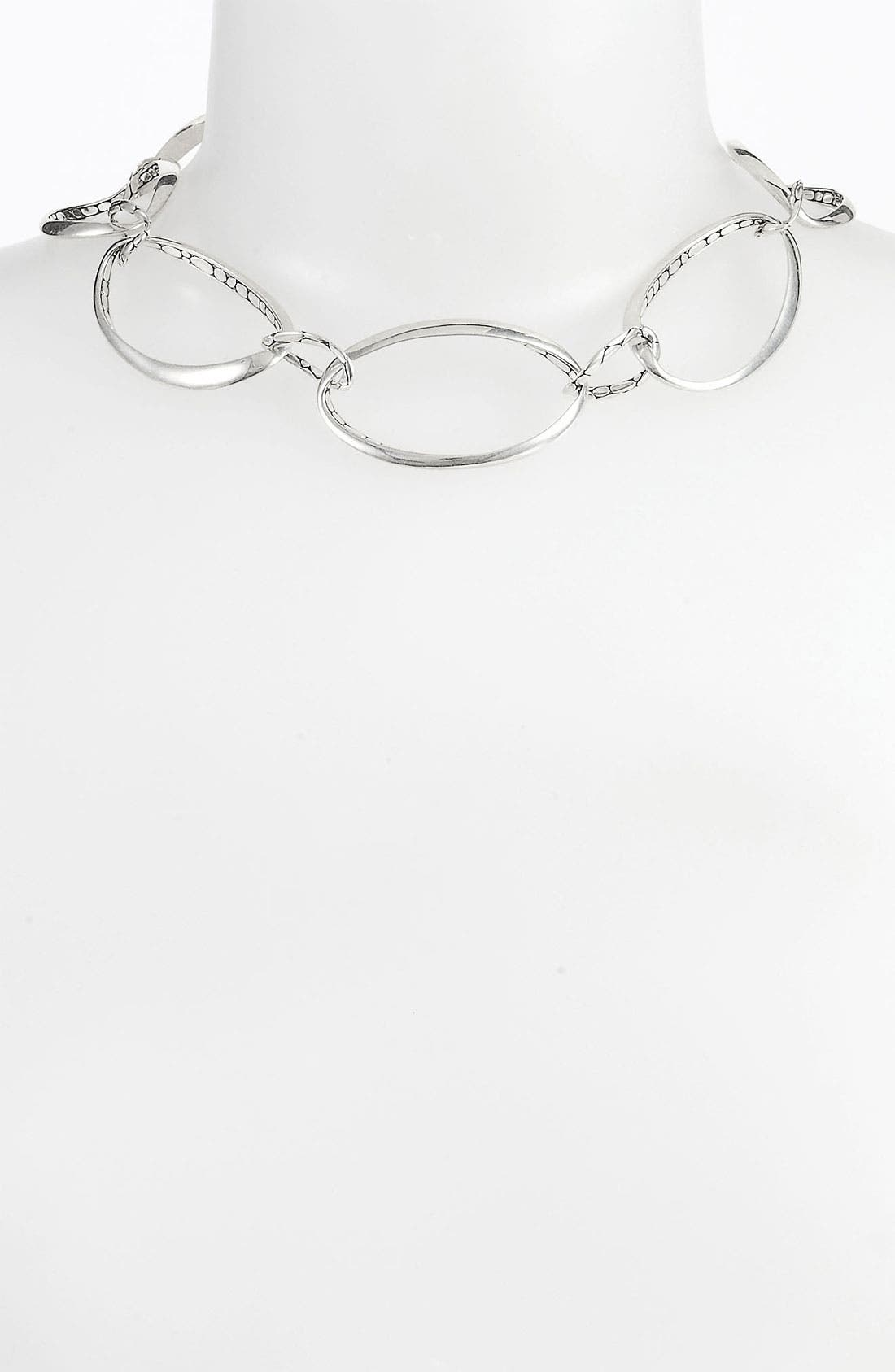 Alternate Image 1 Selected - John Hardy 'Kali' Link Collar Necklace
