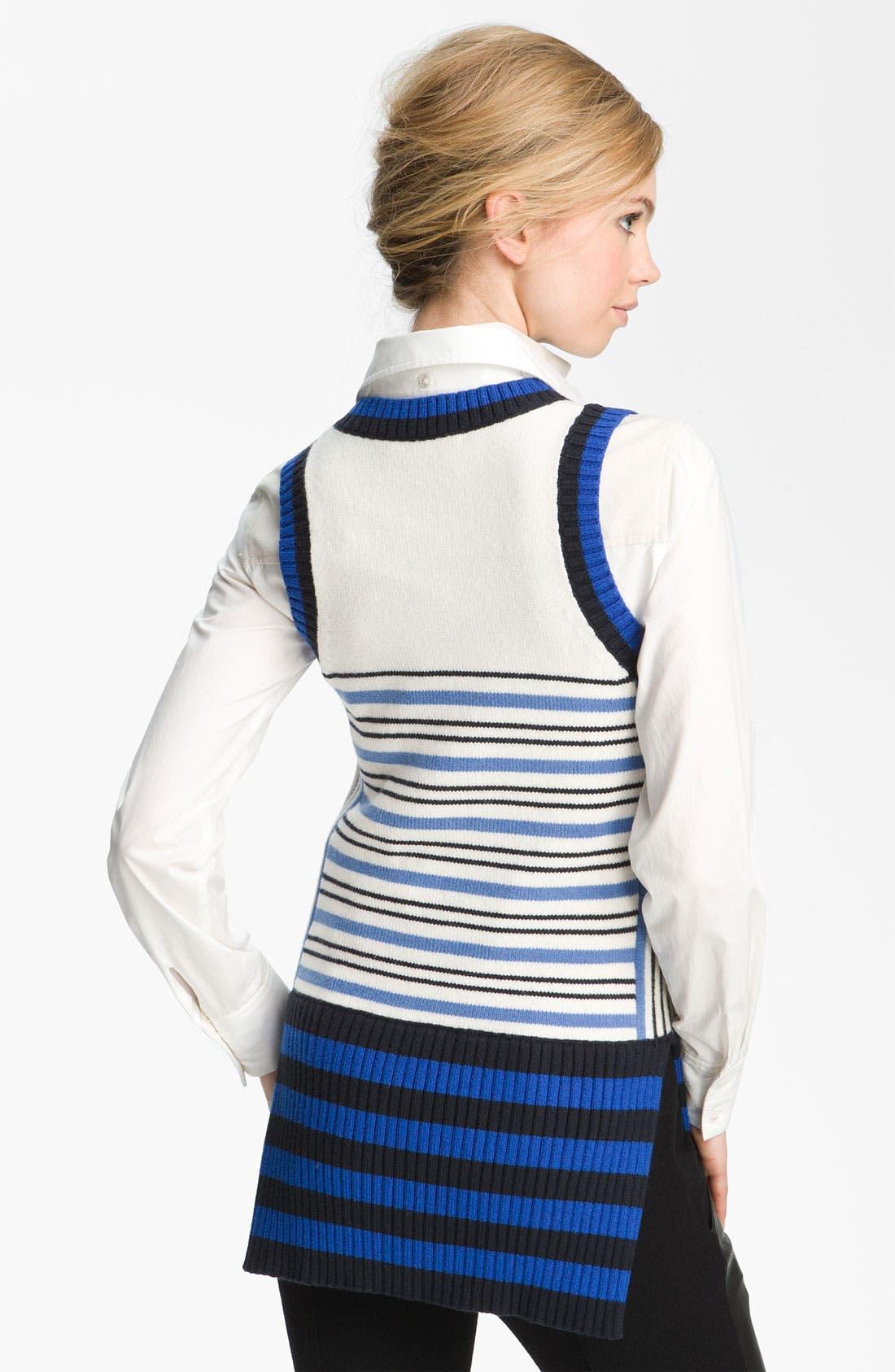 Alternate Image 2  - Derek Lam 10 Crosby Sweater Vest